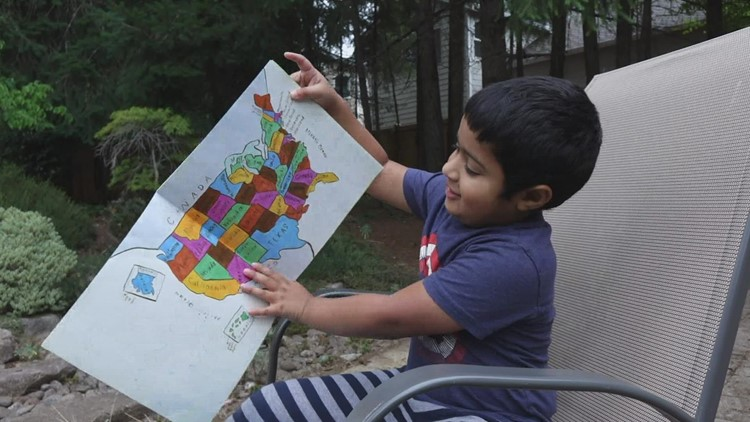 'Highly gifted': 5-year-old accepted into Mensa