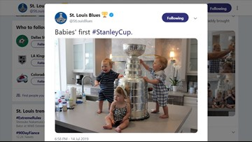 The Most Adorable Photo Of This Stanley Cup Summer Has Arrived Wbir Com