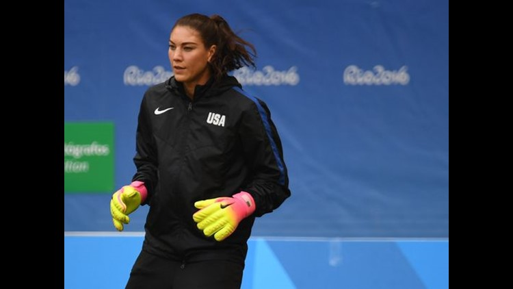 """<p>Fans of the Sweden women's soccer team have not forgotten, nor forgiven, American goalkeeper Hope Solo for calling the team """"cowards.""""</p>"""