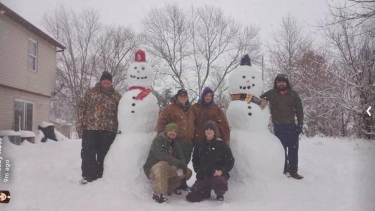Hawk Point, Missouri  St. Louis Cardinals am Blues Snowmen