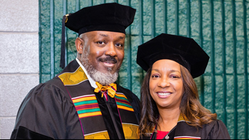 Married Arkansas couple earns doctoral degrees together