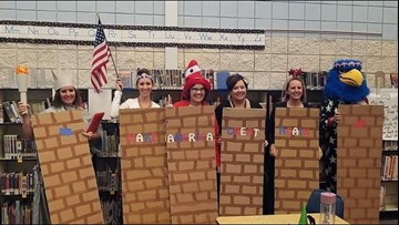 14 Middleton staff members in border wall Halloween costumes put on paid administrative leave