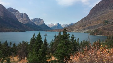 Girl killed when rocks fall on vehicle in Glacier park