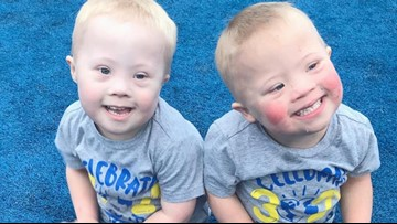 Twin boys with Down syndrome are an inspiration on social media, with followers around the world