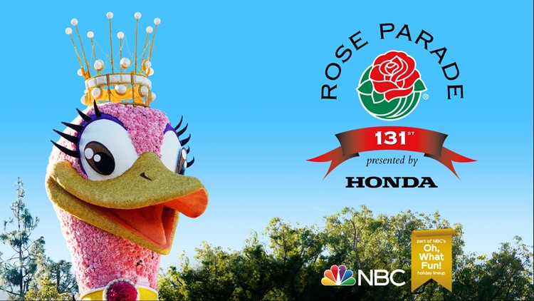 "THE 131ST TOURNAMENT OF ROSES PARADE -- Pictured: ""The 131st Tournament of Roses Parade"" Key Art -- (Photo by: NBC)"