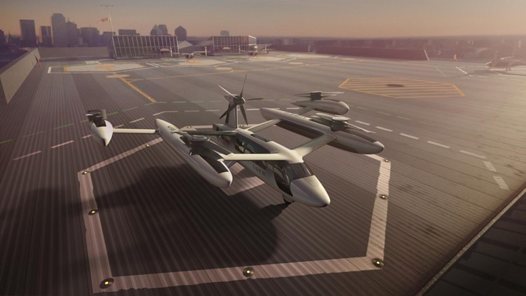 University of Texas, Army join forces to help Uber build flying vehicles