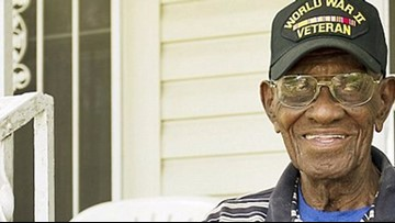 Google Maps memorializes Richard Overton on his front porch