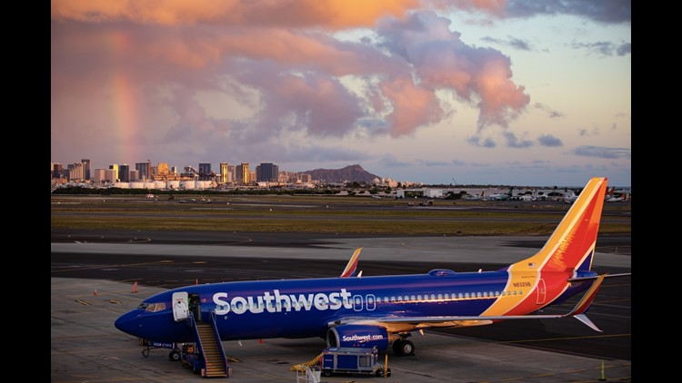 You can redeem Southwest points for flights to Hawaii, which is a great low-cost option for getting to the Aloha State. (Photo courtesy of Southwest.)