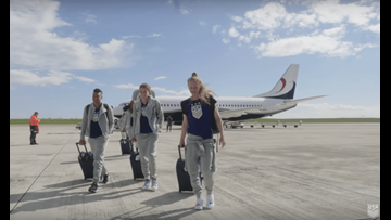 Here's the 60-Seat Boeing 737 the US Women's Soccer Team Flew to France