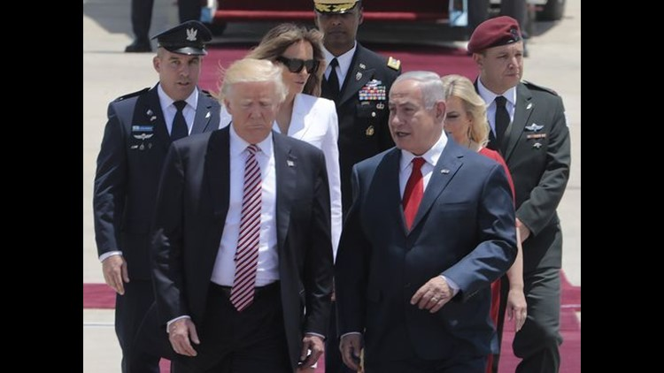 <p>President Trump's two day trip to Israel is set to involve Israel-Palestine negotiations. </p>