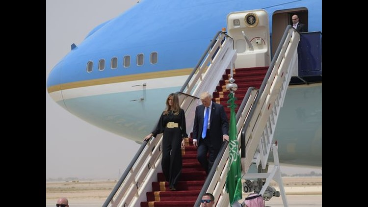 <p>President Trump and Israeli Prime Minister Benjamin Netanyahu appeared together in a joint press conference as part of Trump's first foreign trip as president.</p>