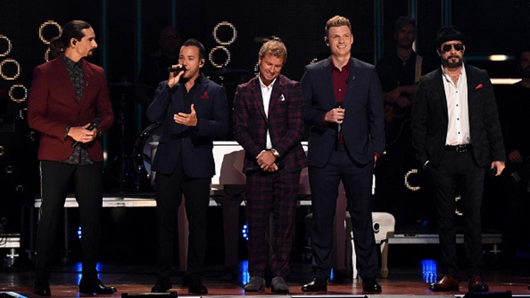 Backstreet Boys premiere new single Don't Go Breaking My Heart