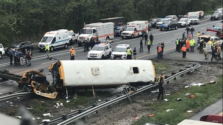 Multiple Injuries Reported after School Bus, Dump Truck Collide in New Jersey