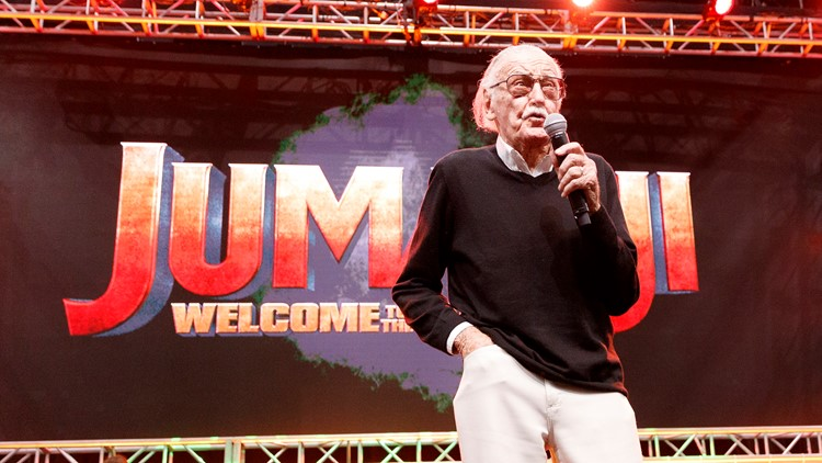 Stan Lee speaks onstage at Stan Lee's Los Angeles Comic-Con at Los Angeles Convention Center on October 28, 2017 in Los Angeles, California. (Photo by Rich Polk/Getty Images for Entertainment Weekly)