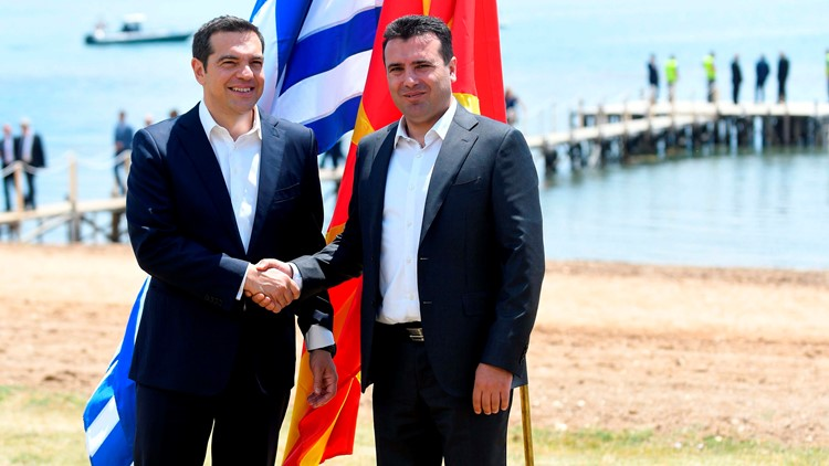 North Macedonia Name Deal Signed With Greece Amid Opposition