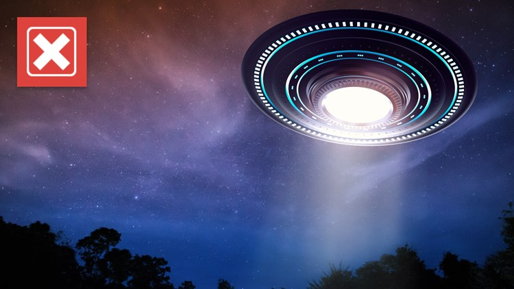 No, the federal government's UFO report did not mention aliens
