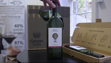 There's A New Eco Friendly Wine Bottle That Can Fit In Your Mailbox