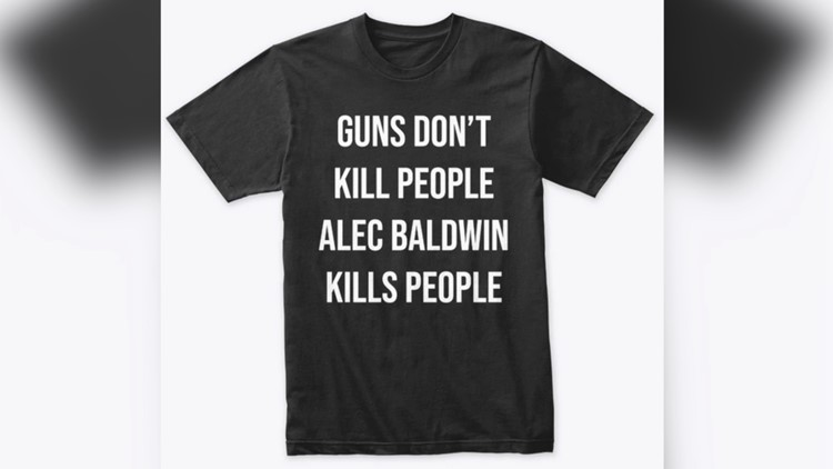 Don Jr.'s Online Store is Selling 'Guns Don't Kill People Alec Baldwin Kills People' T-Shirts