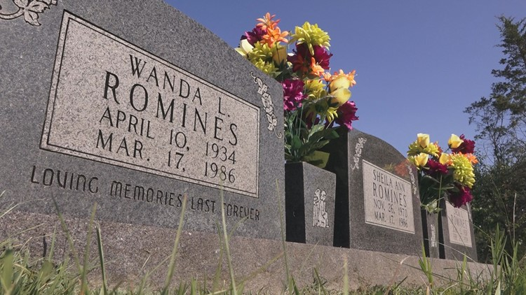 Wanda Shiela Romines Graves Cemetery Steve West Ronnie Martin Execution Death Row