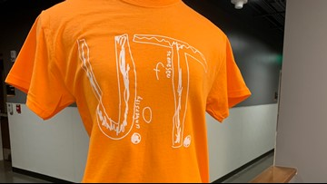 VERIFY: There is only one authorized version of the Florida boy's UT shirt for sale