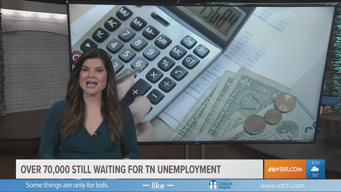 Over 70,000 still waiting for TN unemployment
