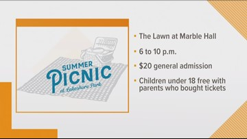 Lakeshore Park to host summer picnic event