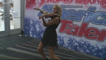 Musical fun at the America's Got Talent auditions in Knoxville
