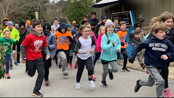 East Tennessee kids begin two-month marathon at Kids Run kick-off
