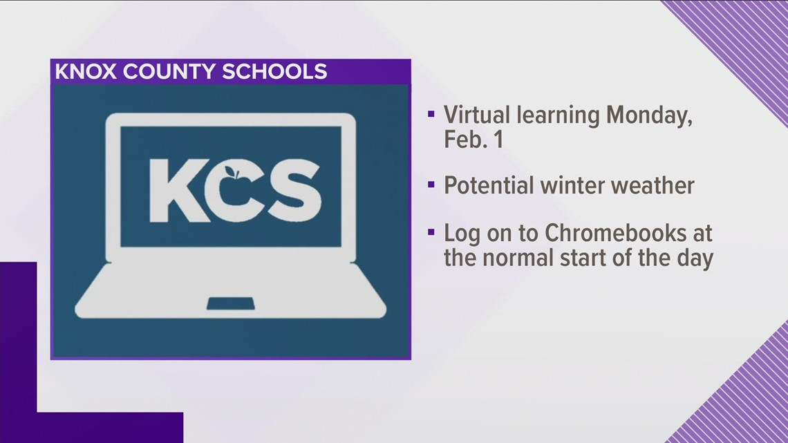 Knox County Schools Calendar 2022.Knox County Schools Moves To Virtual Learning Monday Due To Weather Wbir Com