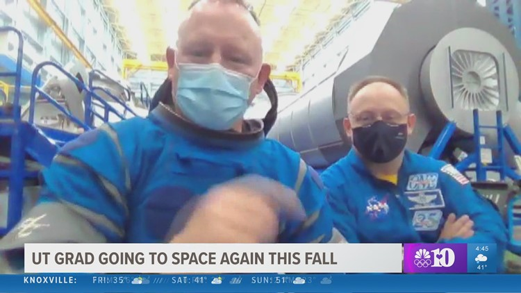 Tennessee astronaut, Captain Barry Wilmore, is training to make history