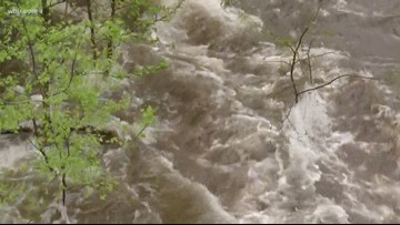 Elkmont Campground evacuated, Cades Cove Loop closed due to flooding