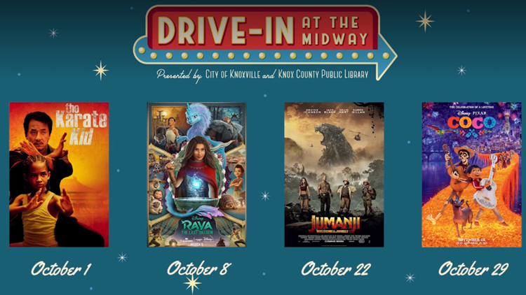 Drive-In at the Midway releases fall movie lineup