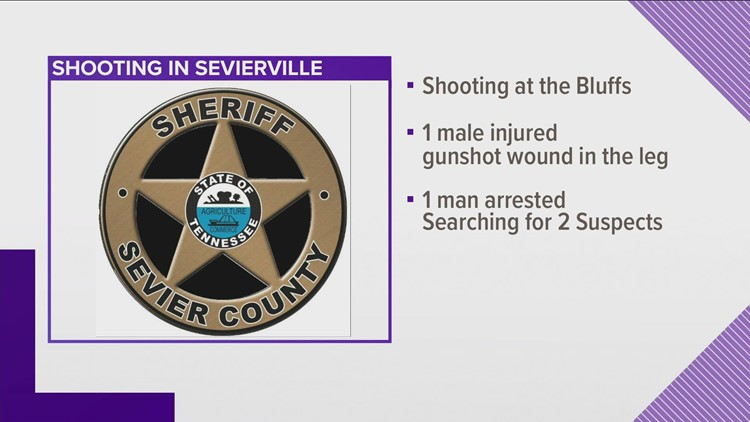 Sevierville shooting leaves one person injured