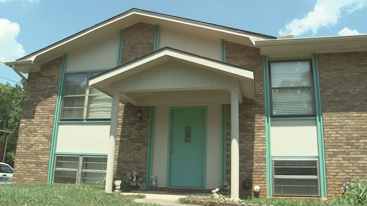 Hazel Ketner lived on the upper level of a Powell home owned by her daughter. Two tenants who lived on the lower, groud level were evicted, according to Ketner.