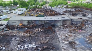 City continues to monitor water quality as neighbors express frustration following massive recycling plant fire
