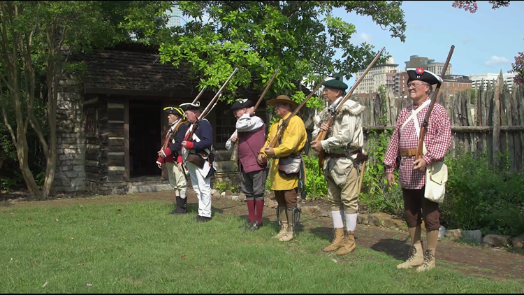 Reenactment at James White's Fort takes Knoxville on a trip through history