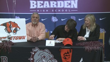 Patrick Boles Signs with Georgetown College