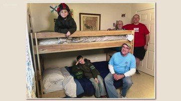 Pay it Forward: Local nonprofit builds beds for bedless children