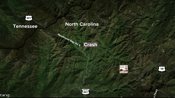 Woman dead after crash on Newfound Gap Road