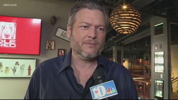 Country star Blake Shelton excited to open Ole Red restaurant in Gatlinburg