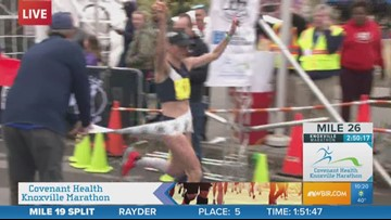 Gina Rouse wins Covenant Health Knoxville Marathon for fourth time