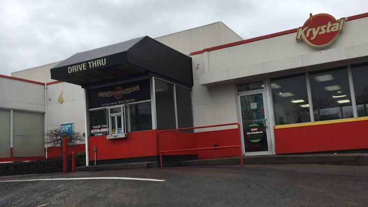 Krystal on N. Broadway to be torn down, replaced by new, sleeker version.