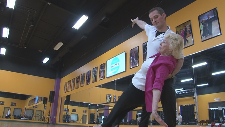 Knoxville woman with MS has a prescription for ballroom dance