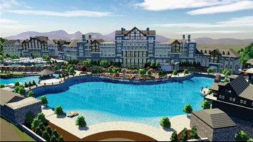 Blue Mist Mountain luxury resort planning to build in Pigeon Forge