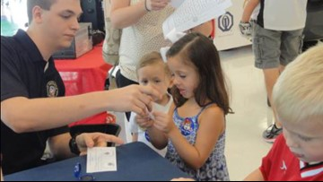 Parents, get photo ID's & fingerprints of your kids at Shoney's free KidCare events