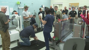 UT vet teaches first responders skills to resuscitate K9s