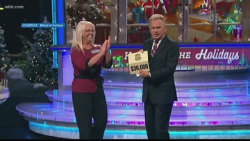 Knoxville woman relives 'Wheel of Fortune' win