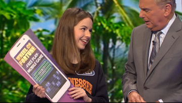 UT Senior Molly Rodabaugh wins nearly $13,000 on Wheel of Fortune
