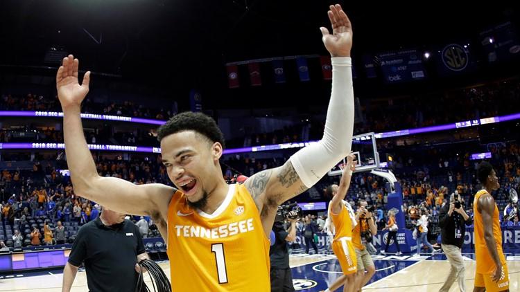 Lamonte Turner SEC Tennessee Kentucky Basketball