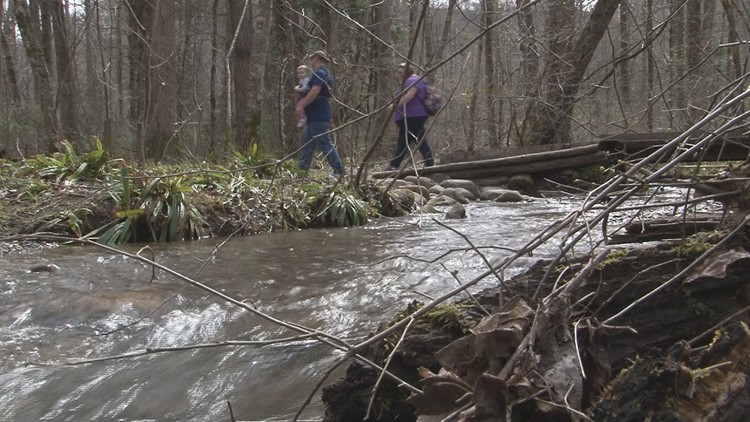 Families return to hike in Smokies after weeks of cold, rain